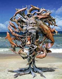 Driftwood sculpture Art Pinterest