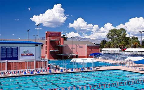 university  arizona kasser family dive pool martin