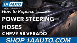 How To Replace Power Steering Hoses 07