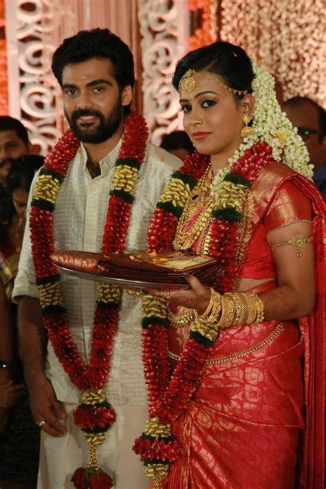 vijayaraghavans son devadevan marries sruthy