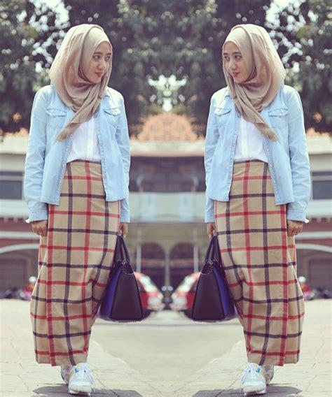 model rok span terbaru  wanita kantoran  muslimah