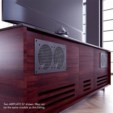 av receiver cabinet system dual fan thermostat ac infinity airplate s5 s7 dual 80 120mm av cabinet