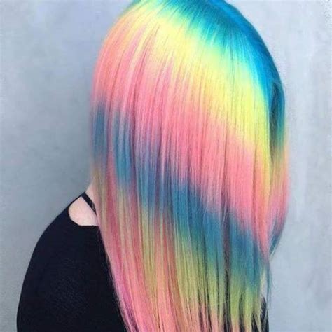 Long Rainbow Hair Tumblr