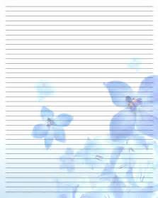 gallery for gt pretty writing paper printable