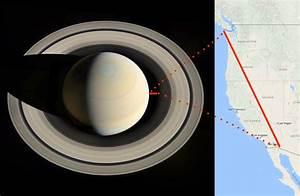 Images from NASA's Cassini probe show Saturn's polar ...