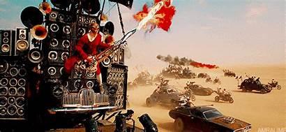 Mad Guy Guitar Fury Road Flamethrower