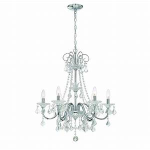 Home Decorators Collection 6-Light Chrome Crystal