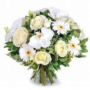 Bouquet Fleurs Blanches : livraison de fleurs envoi de bouquets en france ~ Premium-room.com Idées de Décoration