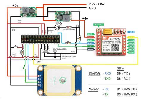 sim800l arduino wiring diagram wiring library