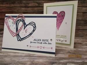 Glückwunschkarten Zur Goldenen Hochzeit : gl ckwunschkarten zur hochzeit gestaltet mit produkten von stampin up hochzeitskarten ~ Frokenaadalensverden.com Haus und Dekorationen