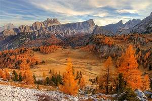 Dolomites, Mountains, Fall, Nature, Landscape, Wallpapers