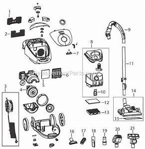 Bissell 66t6 Parts List And Diagram   Ereplacementparts Com