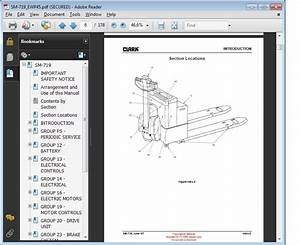 Clark Service Manual Ctm  Cem 10