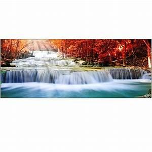 Brise Vue Décoratif : brise vue d co rivi re en cascade art d co stickers ~ Preciouscoupons.com Idées de Décoration