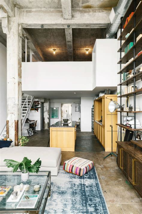 Loft Design Inspiration by Transitioning A Sprawling Industrial Loft To A Cozy Home