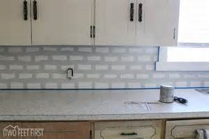 discount kitchen backsplash tile hometalk diy cheap subway tile backsplash
