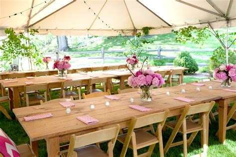 simple outdoor decorations for your table and more