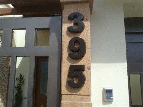 numero residencial juego de  piezas   cm altura