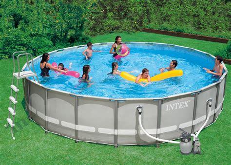 Pool Set by Intex 20 Diameter Frame Pool Set Shop Your Way