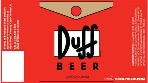 duff beer beerpulse
