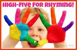 Even More Rhyming Activities for Kids | Rhyming activities ...