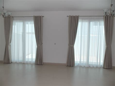 eyelets curtains sheers of living room in meydan heights