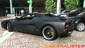 Matte Black Ferrari Testarossa & GTR - YouTube