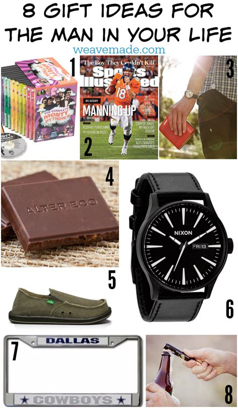 weave made media 8 gift ideas for the man in your life