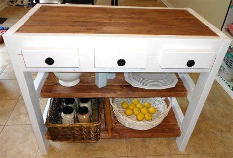 diy kitchen islands diy 30 kitchen island made with 2x4s hometalk 3404