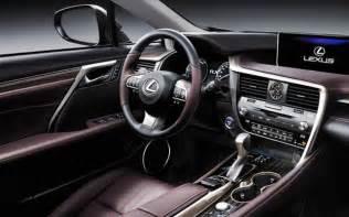 2017 Lexus RX 350 Interior Sport
