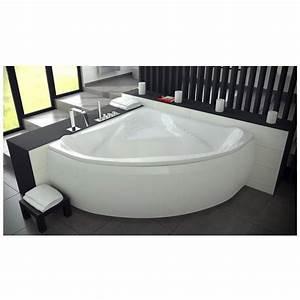 Baignoire D Angle 130x130 : baignoire ewa 134x134 cm baignoire salle de bain design ~ Edinachiropracticcenter.com Idées de Décoration