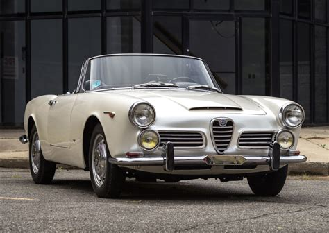 Alfa Romeo 2600 Spider For Sale by 1965 Alfa Romeo 2600 Spider For Sale On Bat Auctions