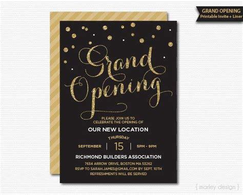 grand opening invitation corporate invitation company