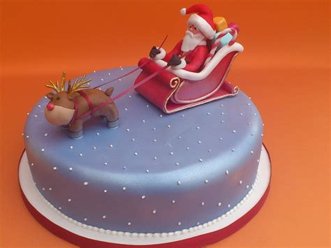 christmas cakes decoration ideas little birthday cakes - Christmas Cake Decoration Ideas