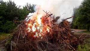 Burning The Brush Piles