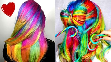 Hair Color Rainbowhair Color Products And Trends 2019