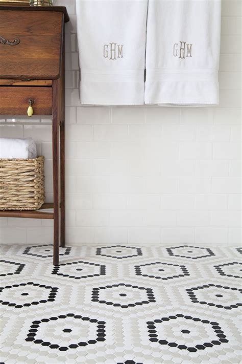 White Floor Tiles For Bathroom by 37 Black And White Mosaic Bathroom Floor Tile Ideas And