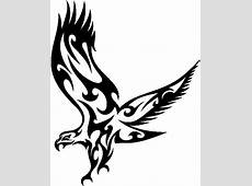 Eagle clipart tribal Pencil and in color eagle clipart