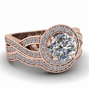 wedding rings pictures rose gold wedding ring sets With wedding ring sets rose gold