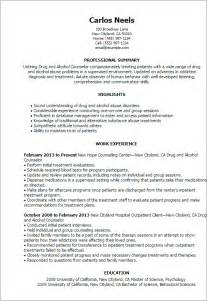 Mental Health Counselor Resume Summary by Professional And Counselor Templates To