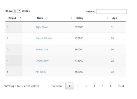 datatable search by datepicker server side server side datatable with sorting searching and