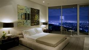 Cool Dining Room Beautiful Bedroom With City View Night