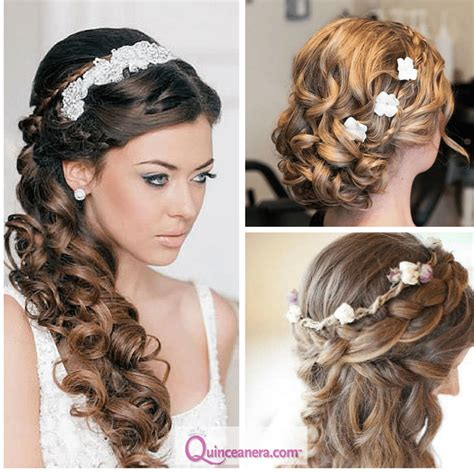 Quinceanera Hairstyles With Curls by Hairstyles For Curly Hair Quinceanera Hairstyles Hair