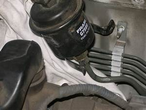 Help  The Bottom Fuel Filter Nut Would Not Loosen
