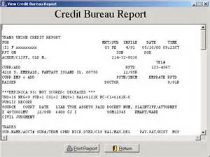Credit Bureau Report Sle micro 21 the dealer management system of choice