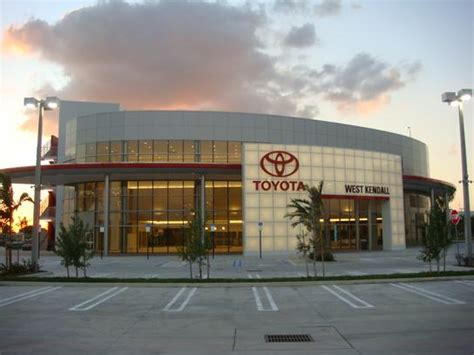 Toyota Of West Kendall by West Kendall Toyota Car Dealership In Miami Fl 33186