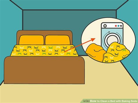 how to clean a bed with baking soda 10 steps with pictures