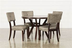 Macie 5 Piece Round Dining Set - Living Spaces