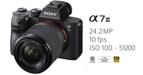 Jual Kamera Mirrorless Sony Mark Iii Kit