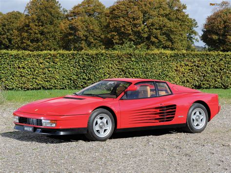 Wallpapers of Ferrari 512 Testarossa 1984–87 (1280x960)